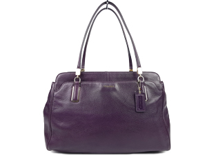 Coach Madison Kimberly Leather Carry Handbag 25161
