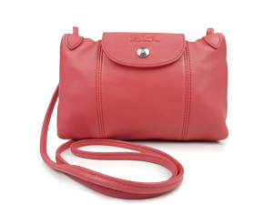 Longchamp Le Pliage Cuir Crossbody Bag