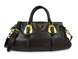 SOLD OUT Prada Leather Top Handle Bag BN1903