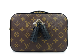 BRAND NEW Louis Vuitton Monogram Saintonge Noir M43555