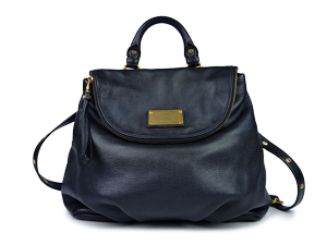 Marc By Marc Jacobs Black Mariska Leather Backpack