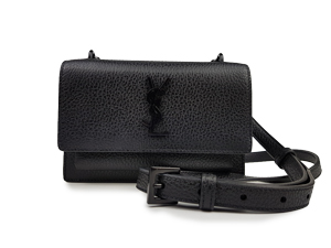 SOLD OUT BRAND NEW YSL Yves Saint Laurent Mini Sunset Bag Nero