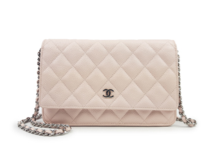 SOLD OUT Chanel Caviar Wallet On Chain WOC