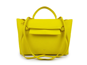 Celine Yellow belt Bag