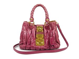 Miu Miu Matelasse two Way Bag