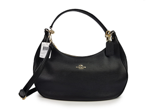 Coach Harley East/West Hobo In Pebble Leather F38250