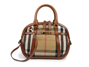 Burberry Sartorial House Check In Brown