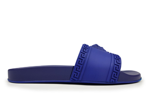 Versace Blue Slippers