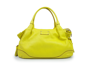 Kate Spade Yellow Stevie Tote