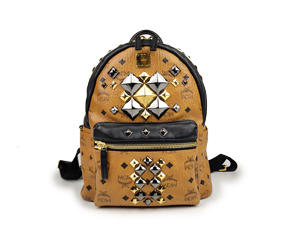 MCM Stark Brock Coated Backpack