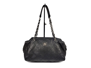 Chanel Black Zip Tote