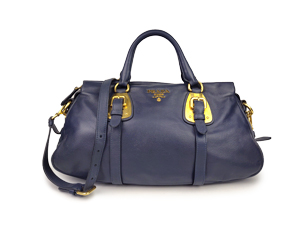 Prada Soft Calf Leather Top Handle Bag BN1903
