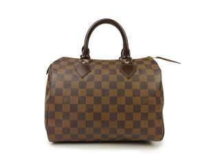 SOLD OUT Louis Vuitton Damier Ebene Speedy 25