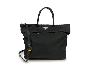 SOLD OUT Prada Black Nylon Shopping / Sling BN2531