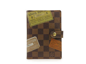 SOLD OUT Limited Edition Louis Vuitton Damier Ebene Small Ring Agenda Cover