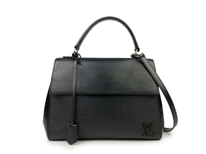 Louis Vuitton Black Epi Leather Cluny