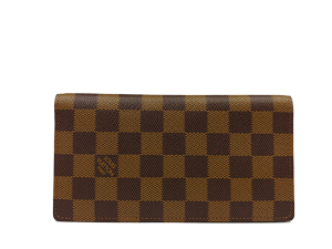 SOLD OUT Louis Vuitton Damier Ebene Porte Valeurs Organizer Wallet