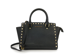 Michael Kors Saffiano Leather Studded Selma Messenger