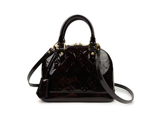SOLD OUT Louis Vuitton Amarante Vernis Alma BB
