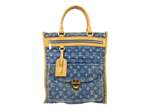 Louis Vuitton Denim Sac Plat Bag