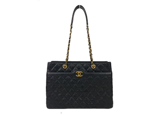 Chanel Black Tote WGH