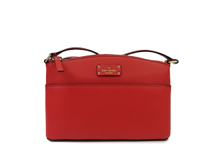 BRAND NEW Kate Spade Red Grove Street Millie Leather Crossbody Bag