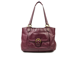 Coach Campbell Leather Belle Carryall F24961