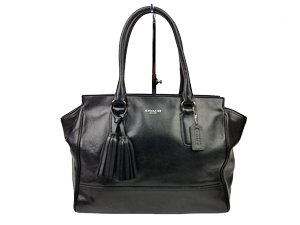 Coach Black Candace Carryall Tote 24201