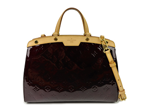 Louis Vuitton Vernis Amarante Brea Two Way
