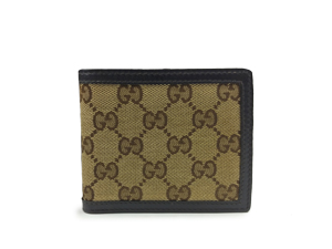 Gucci GG Canvas Bifold Wallet