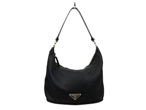 SOLD OUT Prada Black Nylon Shoulder Bag