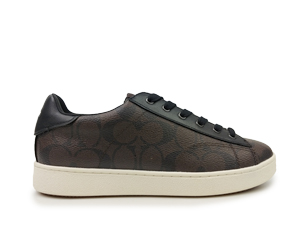 Brand New Coach Brown Mahogany Low Top Sneaker FG1888