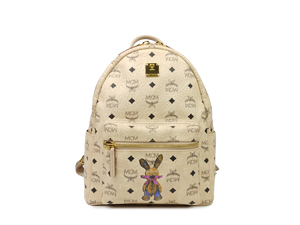 MCM Stark Studded Rabbit Backpack