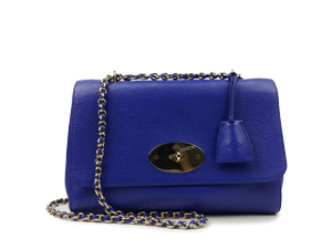 Mulberry Lily Classic Grain Leather Shoulder Bag