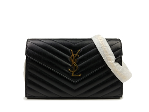 SOLD OUT BRAND NEW Ysl Yves Saint Laurent Monogram Chain Wallet