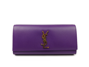 SOLD OUT Ysl Yves Saint Laurent Embossed Calfskin Kate Clutch