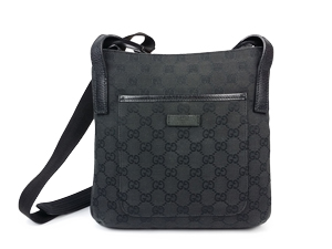 Gucci Black GG Canvas Cross Body 122793