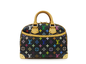 Louis Vuitton Black Multicolor Trouville
