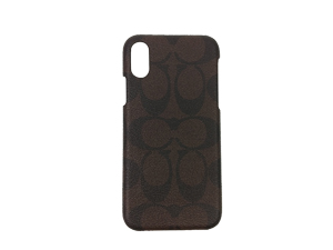 BRAND NEW Coach Signature Iphone XS/X Case F27296