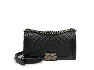 Chanel Black Boy Flap WSH