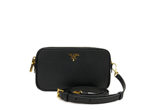 SOLD OUT Prada Saffiano Double Zip Crossbody