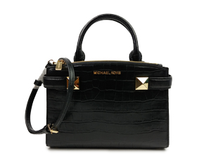 Michael Kors Karla Embossed Satchel