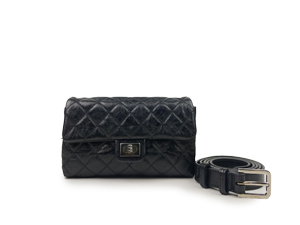 SOLD OUT Chanel Black Reissue Waist Bag