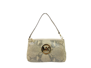 Michael Kors Python Embossed Pouch