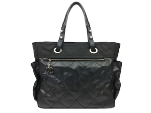 SOLD OUT Chanel Black Paris Biarritz Tote