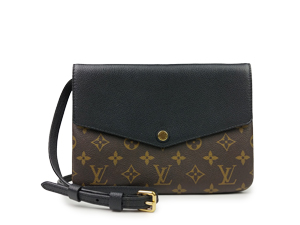 SOLD OUT Louis Vuitton Monogram Noir Twinset Twice