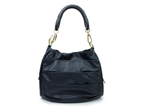 Christian Dior Black Leather Tote Bag