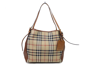Burberry Horseferry Check Panels Canterbury Tote