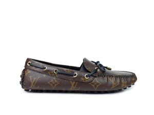 BRAND NEW Louis Vuitton Monogram Gloria Flat Loafers