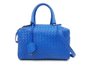 Bottega Veneta Intrecciato Boston Top Handle Bag